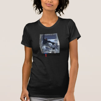 Snowboarder stoked t shirts