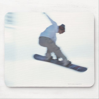 Snowboarding 11 mouse pad
