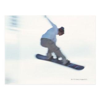 Snowboarding 11 postcard