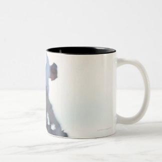 Snowboarding 11 Two-Tone coffee mug