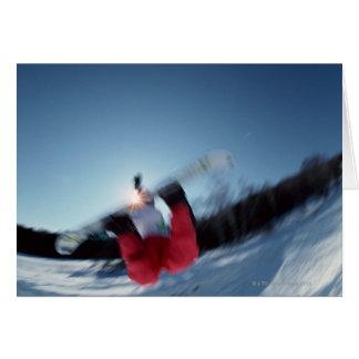 Snowboarding 12 card