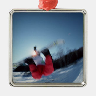 Snowboarding 12 christmas ornament
