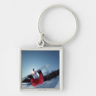 Snowboarding 12 key ring