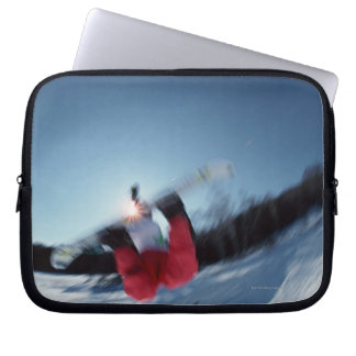Snowboarding 12 laptop sleeve