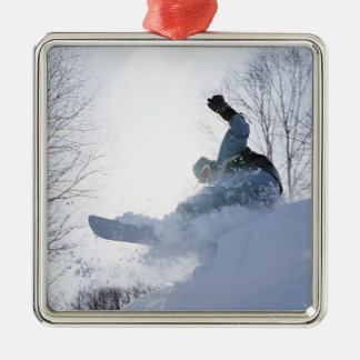 Snowboarding 13 christmas ornament