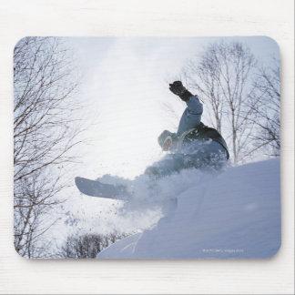 Snowboarding 13 mouse mat