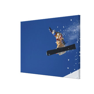 Snowboarding 14 canvas print