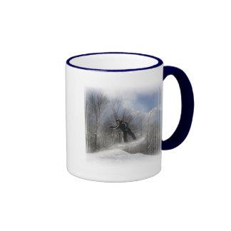 Snowboarding 360 Coffee Mug