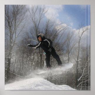 Snowboarding 360 Poster