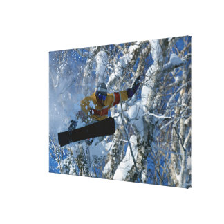 Snowboarding 3 canvas print