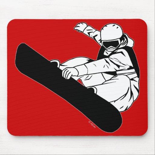Snowboarding 3 mousepad