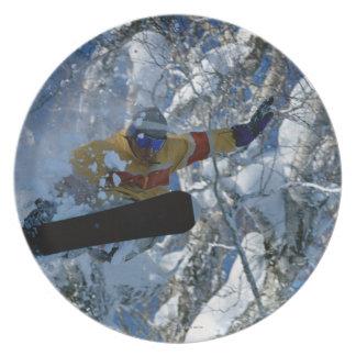 Snowboarding 3 plate