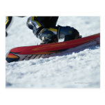 Snowboarding 4 postcard