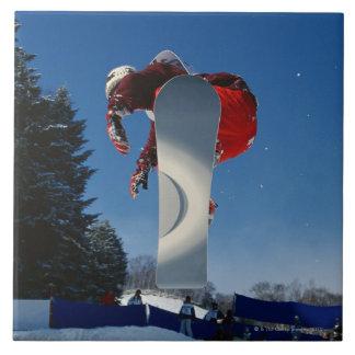 Snowboarding 5 tile