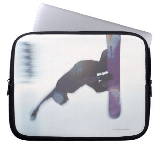 Snowboarding 6 laptop sleeve