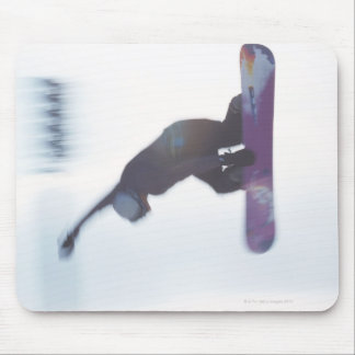 Snowboarding 6 mouse pad