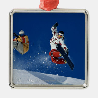 Snowboarding 8 christmas ornament