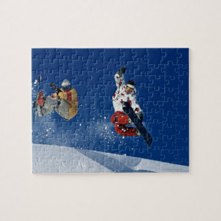 Snowboarding 8 jigsaw puzzle