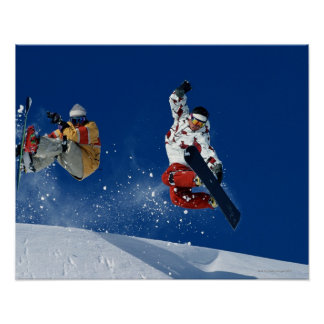 Snowboarding 8 print