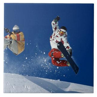 Snowboarding 8 tile