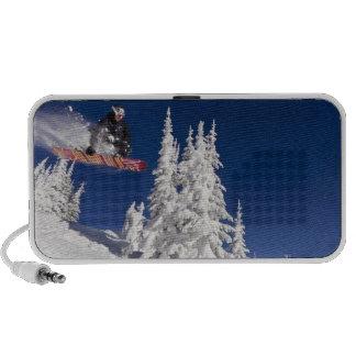 Snowboarding action at Whitefish Mountain Resort Mp3 Speaker