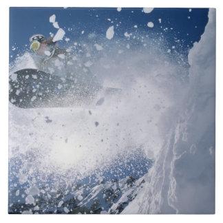 Snowboarding at Snowbird Resort, Wasatch Tile
