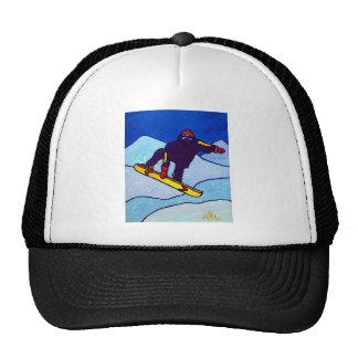 Snowboarding by Piliero Cap