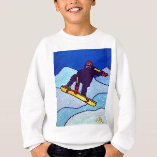 Snowboarding by Piliero Sweatshirt