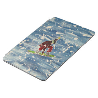 Snowboarding cover iPad air cover