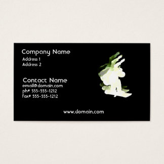 Snowboarding Design Business Card