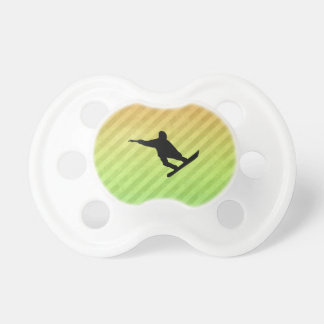 Snowboarding Baby Pacifiers