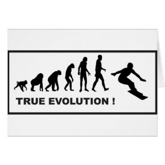 snowboarding evolution card