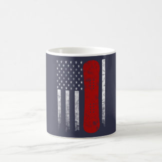 Snowboarding Flag Coffee Mug