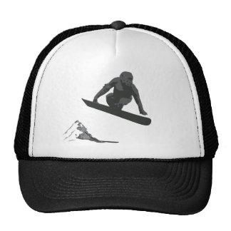 Snowboarding Gorilla Trucker Hat