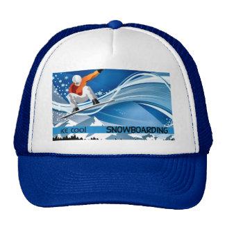 Snowboarding Trucker Hats