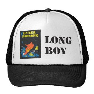 Snowboarding (Hat), long boy Cap