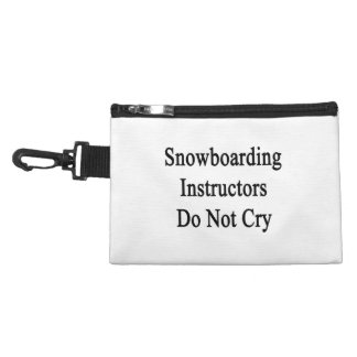 Snowboarding Instructors Do Not Cry Accessories Bag
