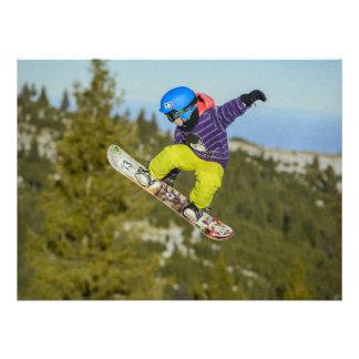 Snowboarding Personalized Invitations