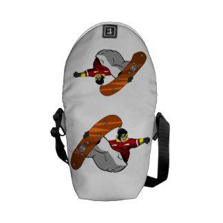 Snowboarding Commuter Bag