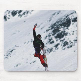 Snowboarding Mouse Mat