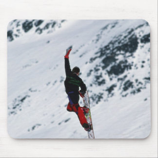 Snowboarding Mouse Pad