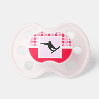 Snowboarding Baby Pacifier
