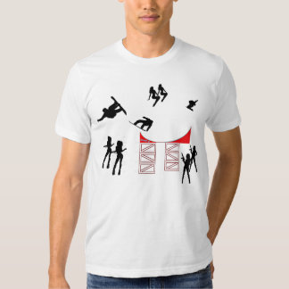 Snowboarding PartyStyle Tshirt