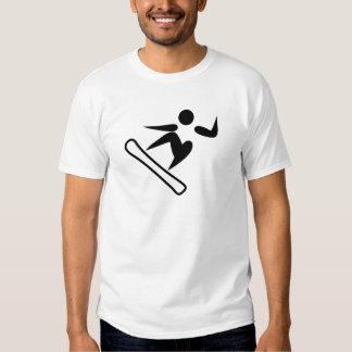 Snowboarding Pictogram Tshirts