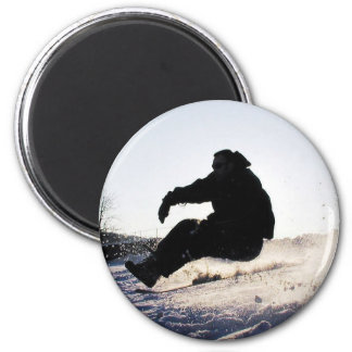 Snowboarding Picture Magnet Magnet