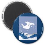 Snowboarding Refrigerator Magnets