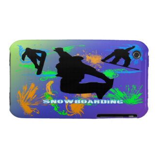 Snowboarding - Snowboarders Case-Mate Case iPhone 3 Covers