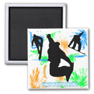 Snowboarding - Snowboarders Magnet