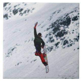 Snowboarding Tile