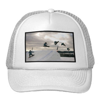 Snowboarding Tricks Baseball Hat